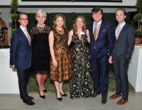 L-R: Wolf Burchard, Lynne Rickabaugh, Catherine Casteel Olasky, Chelcey Berryhill, Maximilian P. Sinsteden and Robbie Gordy attend the The Royal Oak Foundation's FOLLIES at the Art Director's Club in New York, NY on October 5, 2016.  (Photo by Stephen Smith)