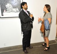 Cecil: A Love Story exhibition opening at Joseph Gross Gallery #42