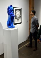Cecil: A Love Story exhibition opening at Joseph Gross Gallery #131