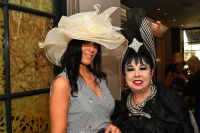 CEO Michelle-Marie Heinemann of Old Fashioned Mom Magazine hosts her 9th Annual Bellini and Bloody Mary Hat Party at Bar Pleiades #47