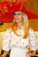 CEO Michelle-Marie Heinemann of Old Fashioned Mom Magazine hosts her 9th Annual Bellini and Bloody Mary Hat Party at Bar Pleiades #8