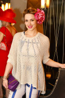 CEO Michelle-Marie Heinemann of Old Fashioned Mom Magazine hosts her 9th Annual Bellini and Bloody Mary Hat Party at Bar Pleiades #55