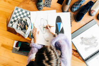 Meet Marie Laffont, The Parisian Designer With The Most Artsy Shoes In The Biz