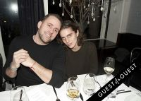 Fausto Puglisi celebrates his Emanuel Ungaro FW15 Collection with an intimate dinner at Wallse #21
