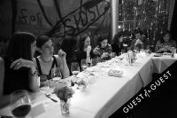 Fausto Puglisi celebrates his Emanuel Ungaro FW15 Collection with an intimate dinner at Wallse #23