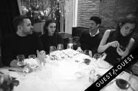 Fausto Puglisi celebrates his Emanuel Ungaro FW15 Collection with an intimate dinner at Wallse #27