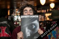 Quiet Lunch Magazine Launch #17