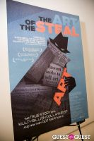 The Art of Steal Premiere at MoMA #89