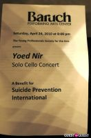 The Young Professionals Society for the Arts presents Yoed Nir: A Benefit for Suicide Prevention International #45