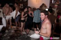 The 200 Person Pillow Fight in your Lingerie Party #43