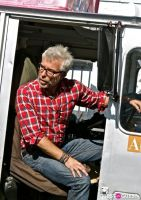 Armani cool down truck #14