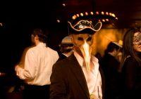 Soho Synagogue Venetian Mask Purim Party I #10
