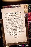 Join Saks, Allegri and Michelle Alves to Celebrate High School of Fashion Industries #49