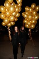 """MARTINI """"LET'S GO"""" SPLASHING THE NYC SKY WITH GOLD BALLOONS #6"""
