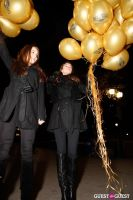 """MARTINI """"LET'S GO"""" SPLASHING THE NYC SKY WITH GOLD BALLOONS #7"""