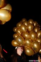 """MARTINI """"LET'S GO"""" SPLASHING THE NYC SKY WITH GOLD BALLOONS #16"""