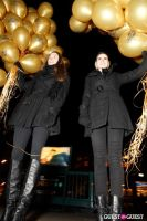"""MARTINI """"LET'S GO"""" SPLASHING THE NYC SKY WITH GOLD BALLOONS #19"""