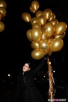 """MARTINI """"LET'S GO"""" SPLASHING THE NYC SKY WITH GOLD BALLOONS #25"""