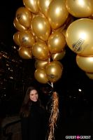 """MARTINI """"LET'S GO"""" SPLASHING THE NYC SKY WITH GOLD BALLOONS #26"""