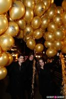 """MARTINI """"LET'S GO"""" SPLASHING THE NYC SKY WITH GOLD BALLOONS #29"""
