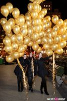 """MARTINI """"LET'S GO"""" SPLASHING THE NYC SKY WITH GOLD BALLOONS #30"""