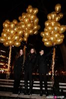 """MARTINI """"LET'S GO"""" SPLASHING THE NYC SKY WITH GOLD BALLOONS #35"""