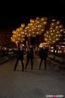 """MARTINI """"LET'S GO"""" SPLASHING THE NYC SKY WITH GOLD BALLOONS #37"""