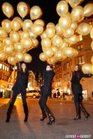 """MARTINI """"LET'S GO"""" SPLASHING THE NYC SKY WITH GOLD BALLOONS #54"""