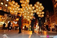 """MARTINI """"LET'S GO"""" SPLASHING THE NYC SKY WITH GOLD BALLOONS #63"""