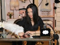 Victoria's Secret Beauty Adriana Lima Launches NOIR Collection #1