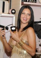 Victoria's Secret Beauty Adriana Lima Launches NOIR Collection #4