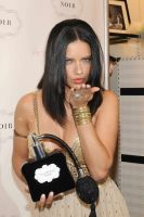 Victoria's Secret Beauty Adriana Lima Launches NOIR Collection #7