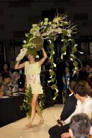 VillageCare's Tulips and Pansies Headdress Runway Show #56