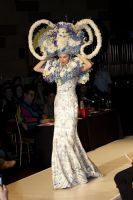 VillageCare's Tulips and Pansies Headdress Runway Show #57