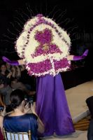 VillageCare's Tulips and Pansies Headdress Runway Show #58