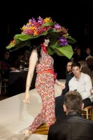 VillageCare's Tulips and Pansies Headdress Runway Show #63