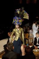 VillageCare's Tulips and Pansies Headdress Runway Show #64
