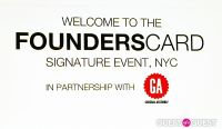 FoundersCard Signature Event: NY, in Partnership with General Assembly #12