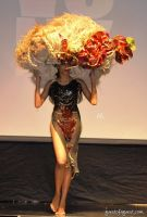 Tulips & Pansies  Headdress the Affair #24