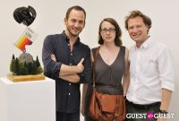 Daniel Mort - Obliquity opening at Charles Bank Gallery #95