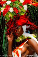 VCNY - Tulips & Pansies- A Headdress Affair - Runway and Backstage #105