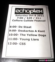 FILTER Magazine's Culture Collide Festival Events 2011 (Oct 5-8) Featuring: CSS @ Echoplex, The Rapture DJ Set @ Kickoff Party & More #7