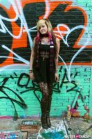 Graffiti Warehouse Fashion Shoot #34