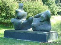 Henry Moore At New York Botanical Gardens #2