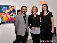 Retrospect exhibition opening at Charles Bank Gallery #79