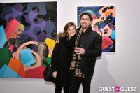 Retrospect exhibition opening at Charles Bank Gallery #110