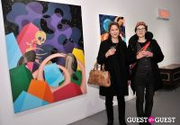 Retrospect exhibition opening at Charles Bank Gallery #126