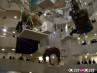 """The Last Word"":  Maurizio Cattelan's Closing Celebration at the Guggenheim #4"