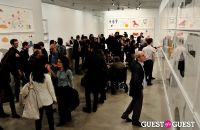 Jorinde Voigt opening reception at David Nolan Gallery #36