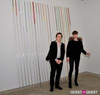 Jorinde Voigt opening reception at David Nolan Gallery #72